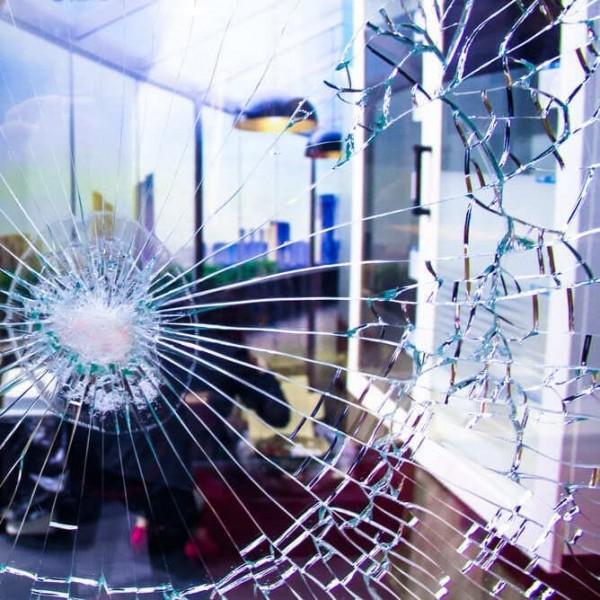 Glas Splitterschutzfolie Innen