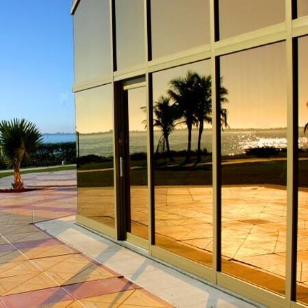Sonnenschutzfolie Fenster Innen Bronze