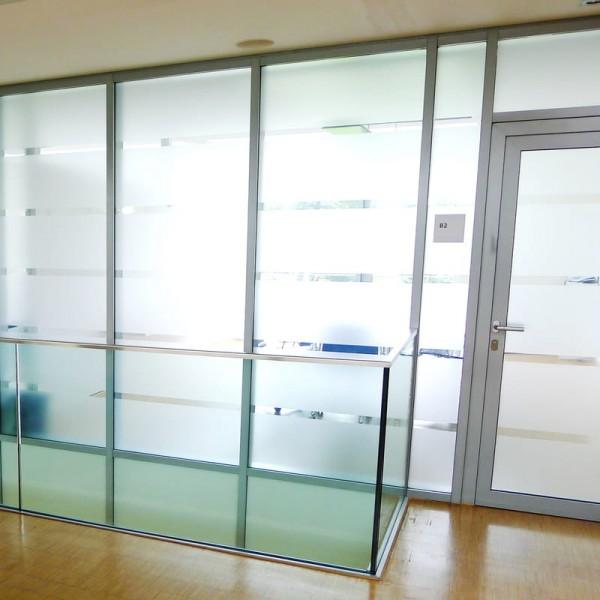 Milchglas Fensterfolie satiniert