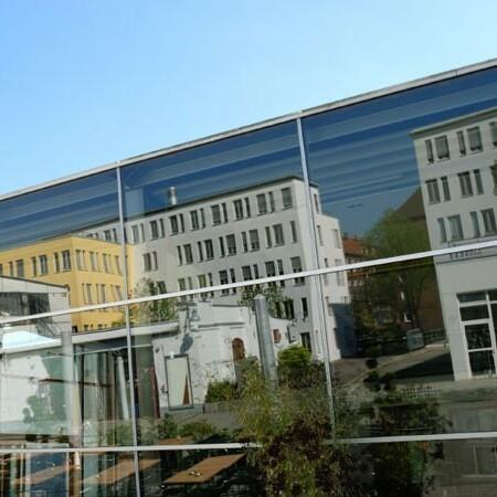 Sonnenschutzfolie Fenster Innen Silber Mittel